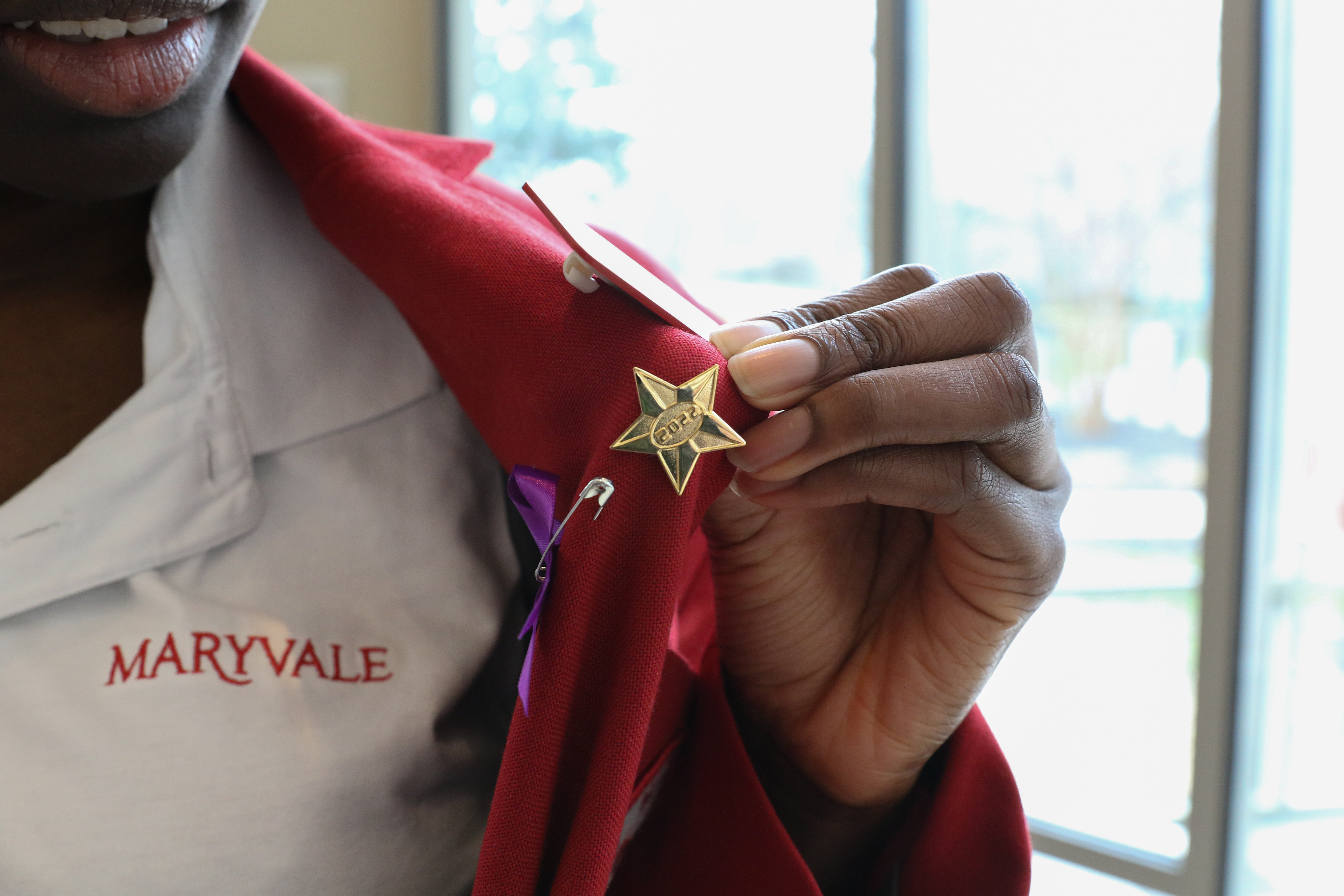 Maryvale's Class of 2022 participates in Pin Ceremony