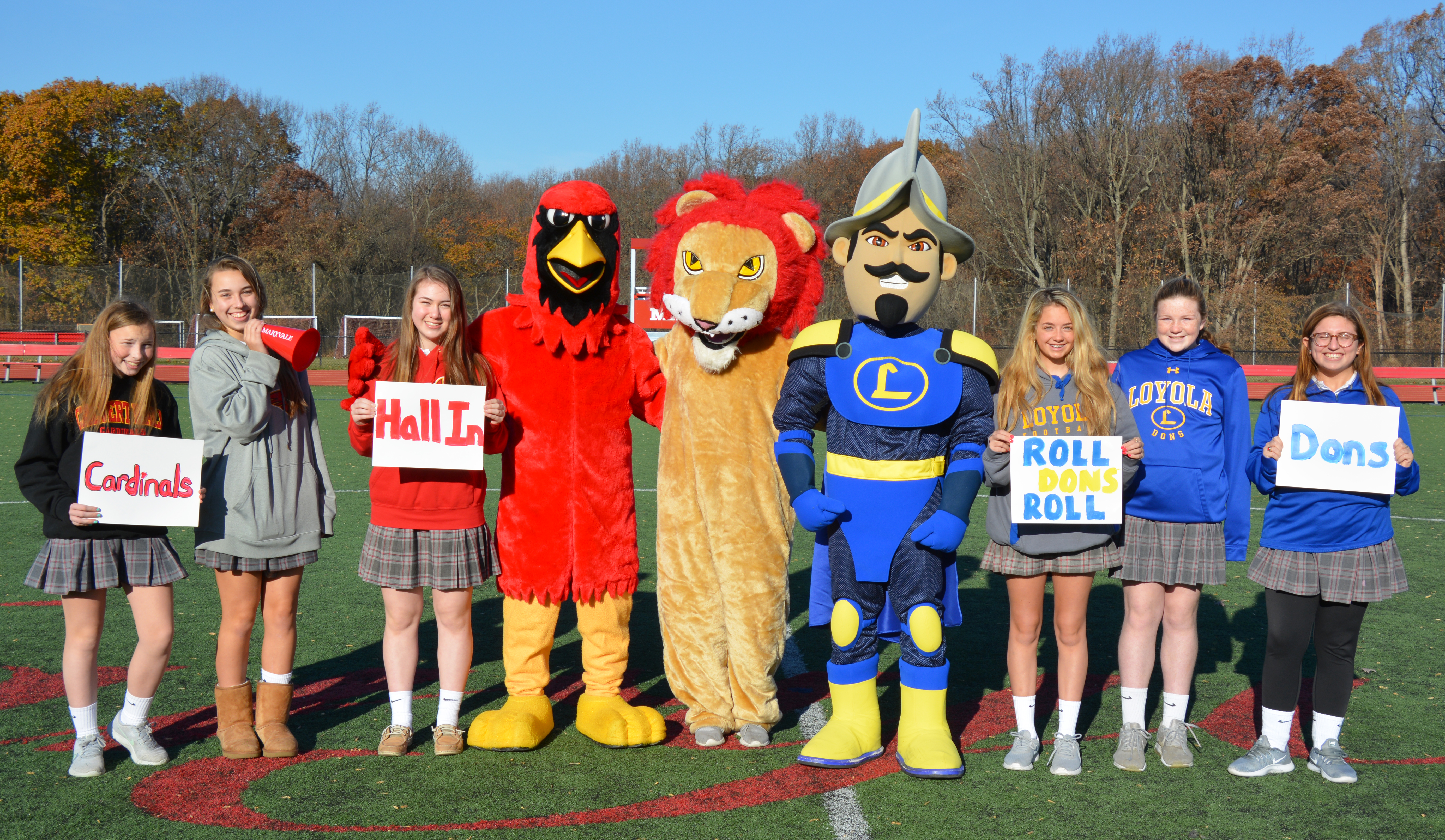Maryvale wishes Calvert Hall, Loyola Blakefield good luck in today's Turkey Bowl!