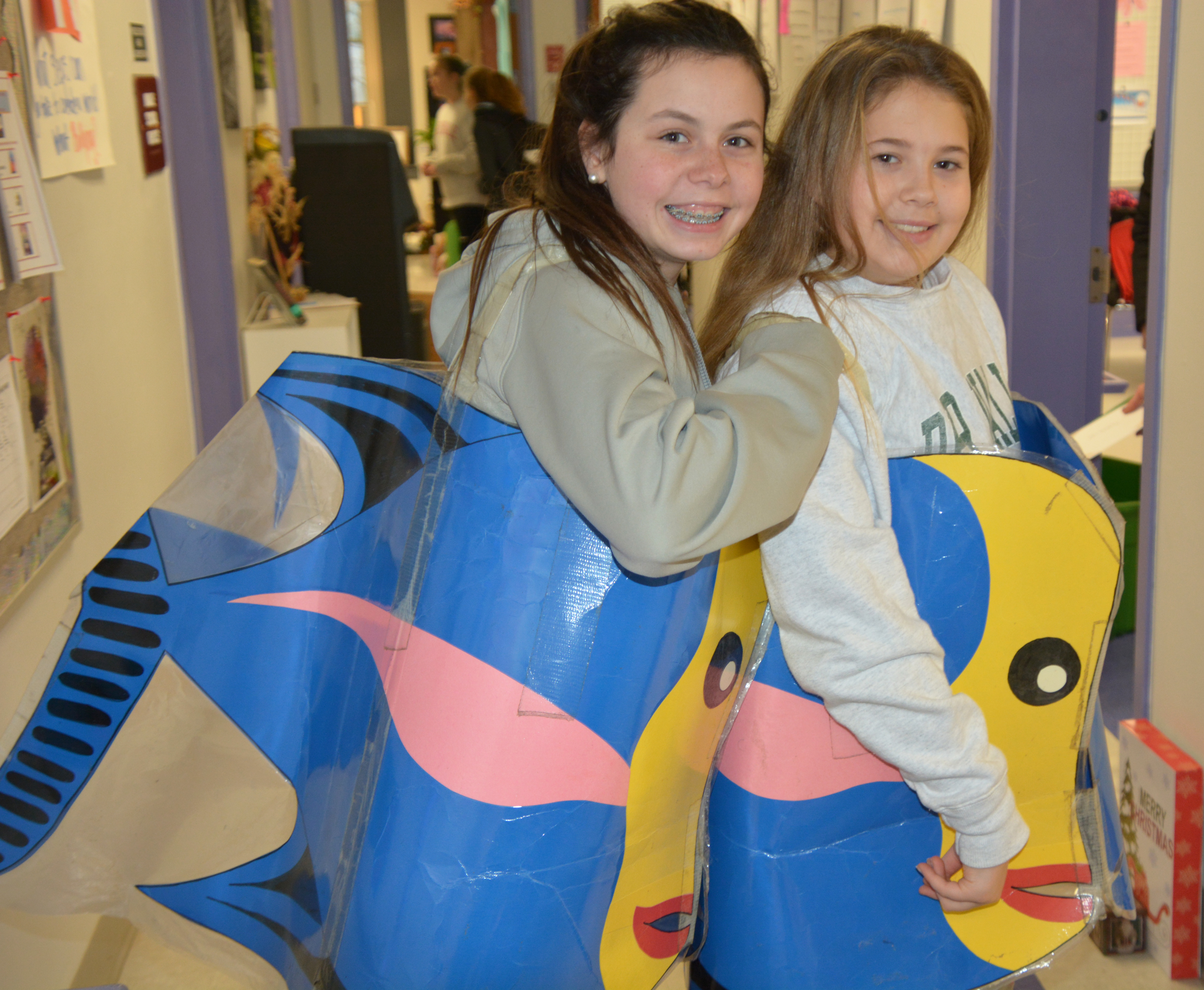 "Middle School students learn about ""Our Oceans"" during Mini-Mester"