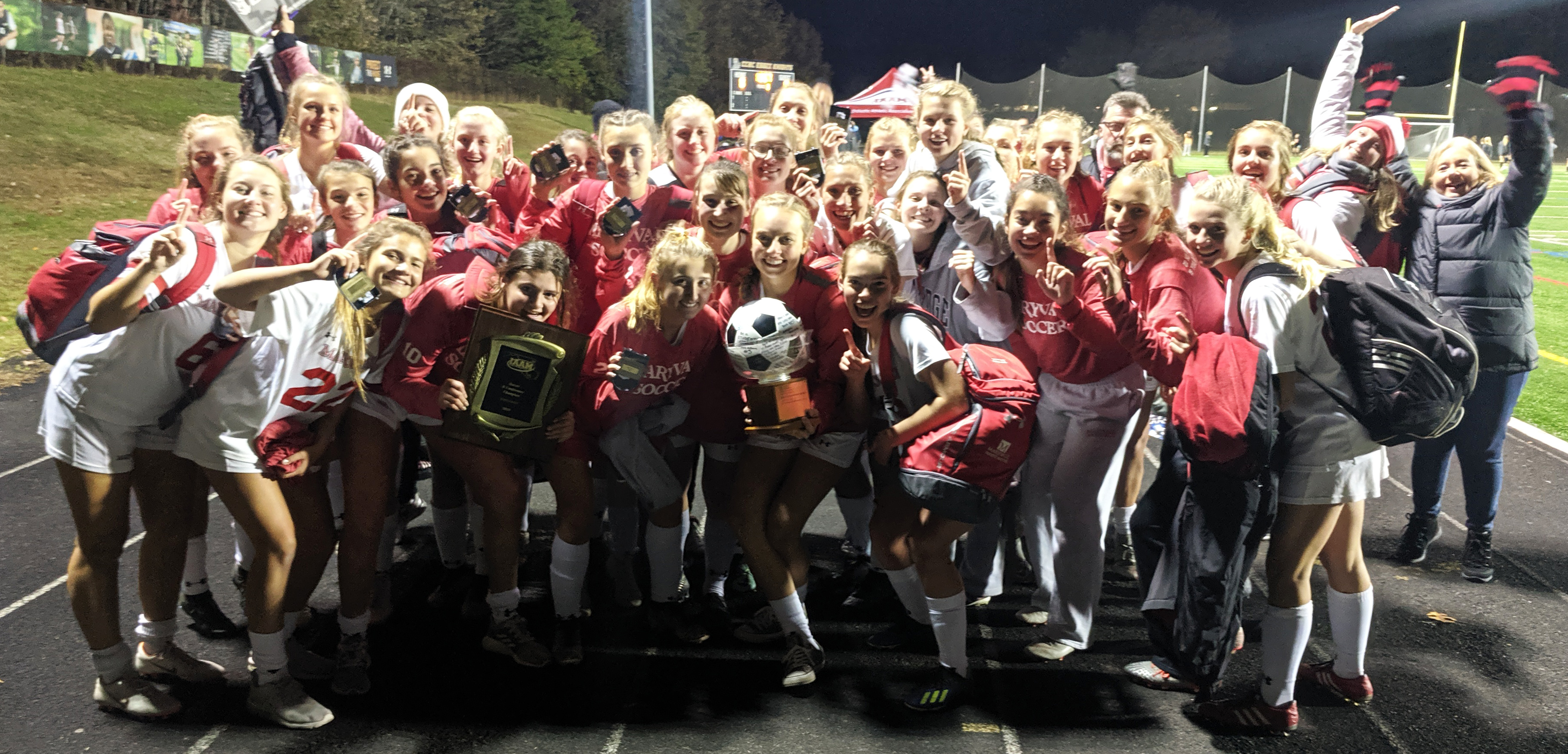 "Maryvale's Varsity Soccer Team captures IAAM ""B"" Conference Championship title"