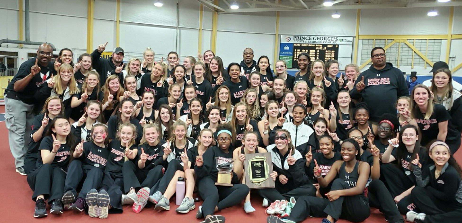 Maryvale Indoor Track & Field captures IAAM A Conference Championship