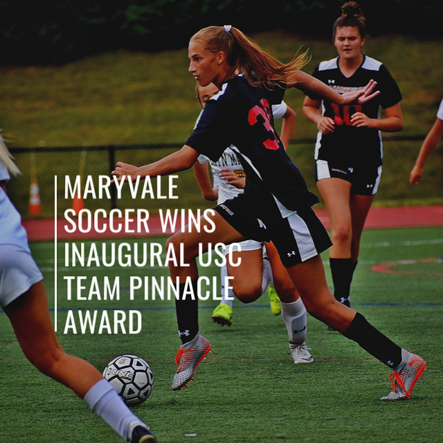 Maryvale Varsity Soccer Team wins inaugural United Soccer Coaches Association Team Pinnacle Award