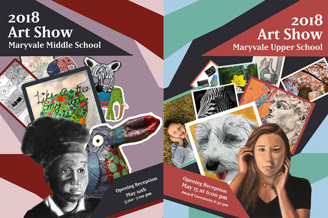 You're invited: Middle School and Upper School art shows