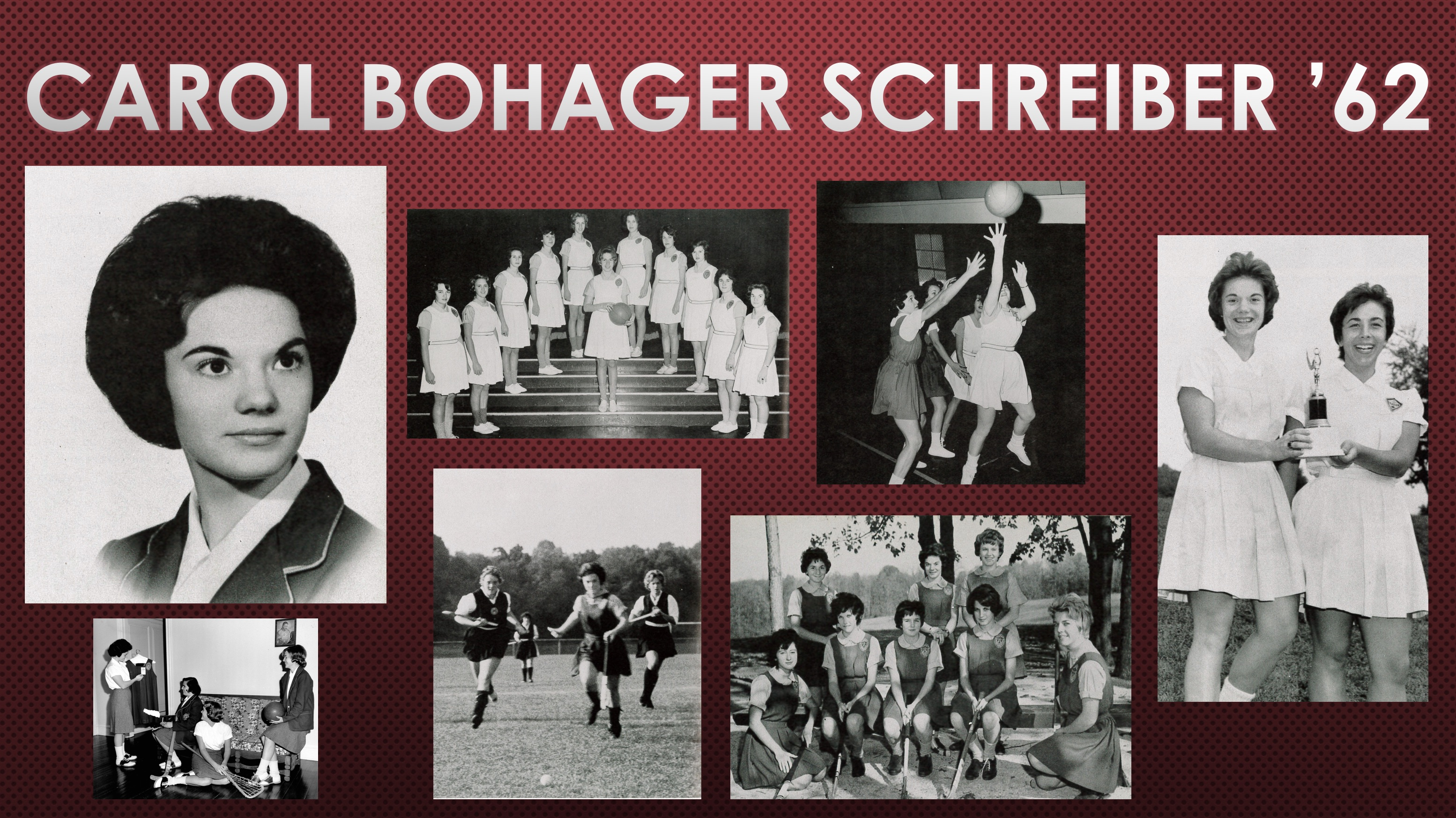 2018 Athletic Hall of Fame Inductee: Carol Bohager Schreiber '62