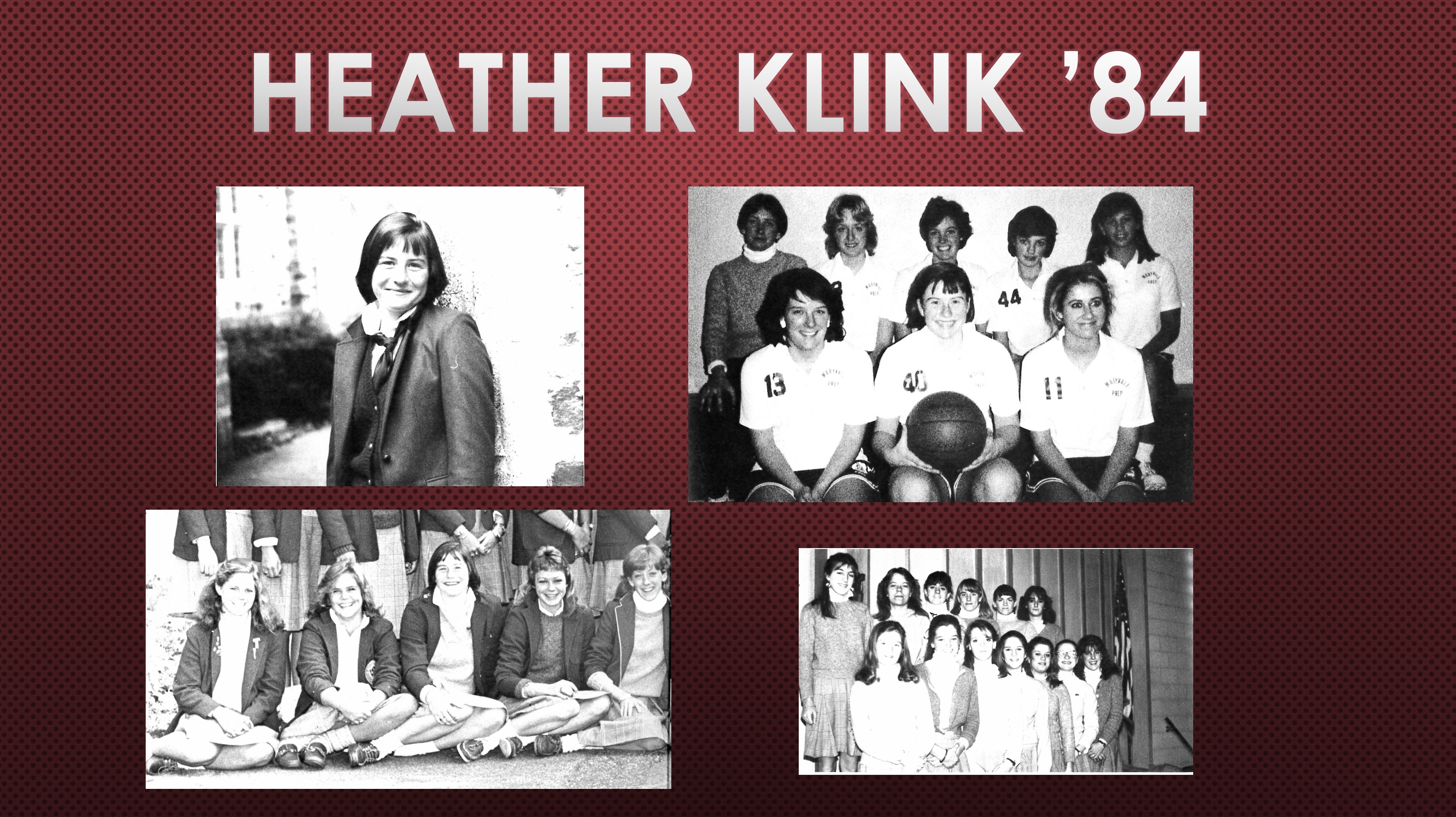 2018 Athletic Hall of Fame Inductee: Heather Klink '84