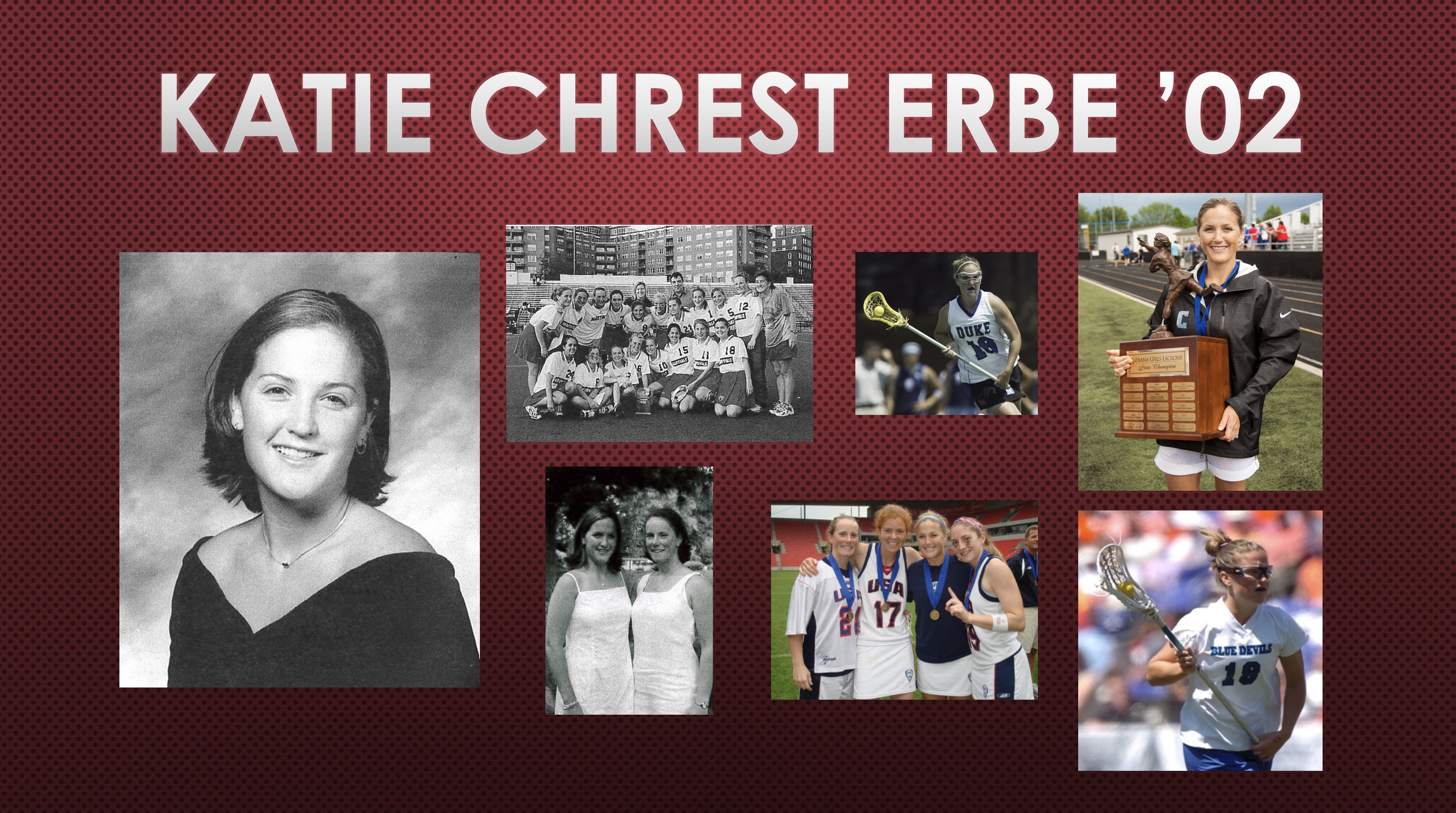 2018 Athletic Hall of Fame Inductee: Katie Chrest Erbe '02