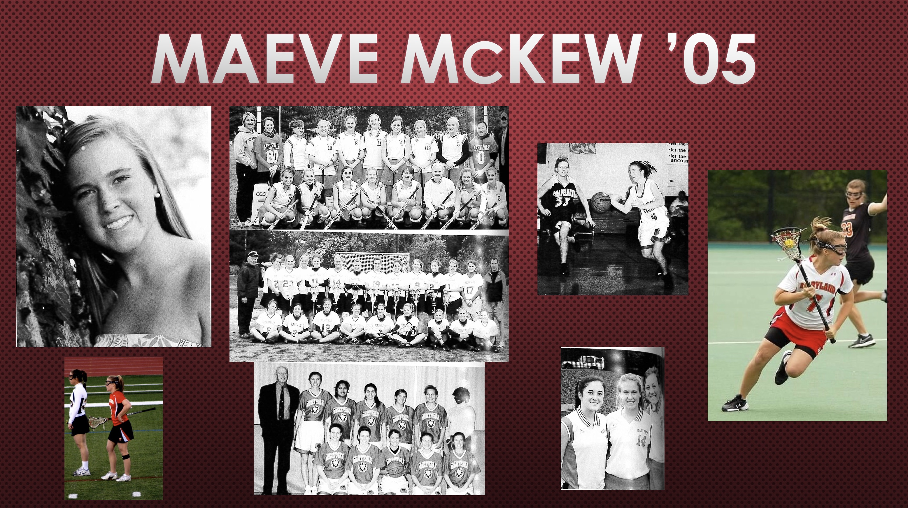 2018 Athletic Hall of Fame Inductee: Maeve McKew '05