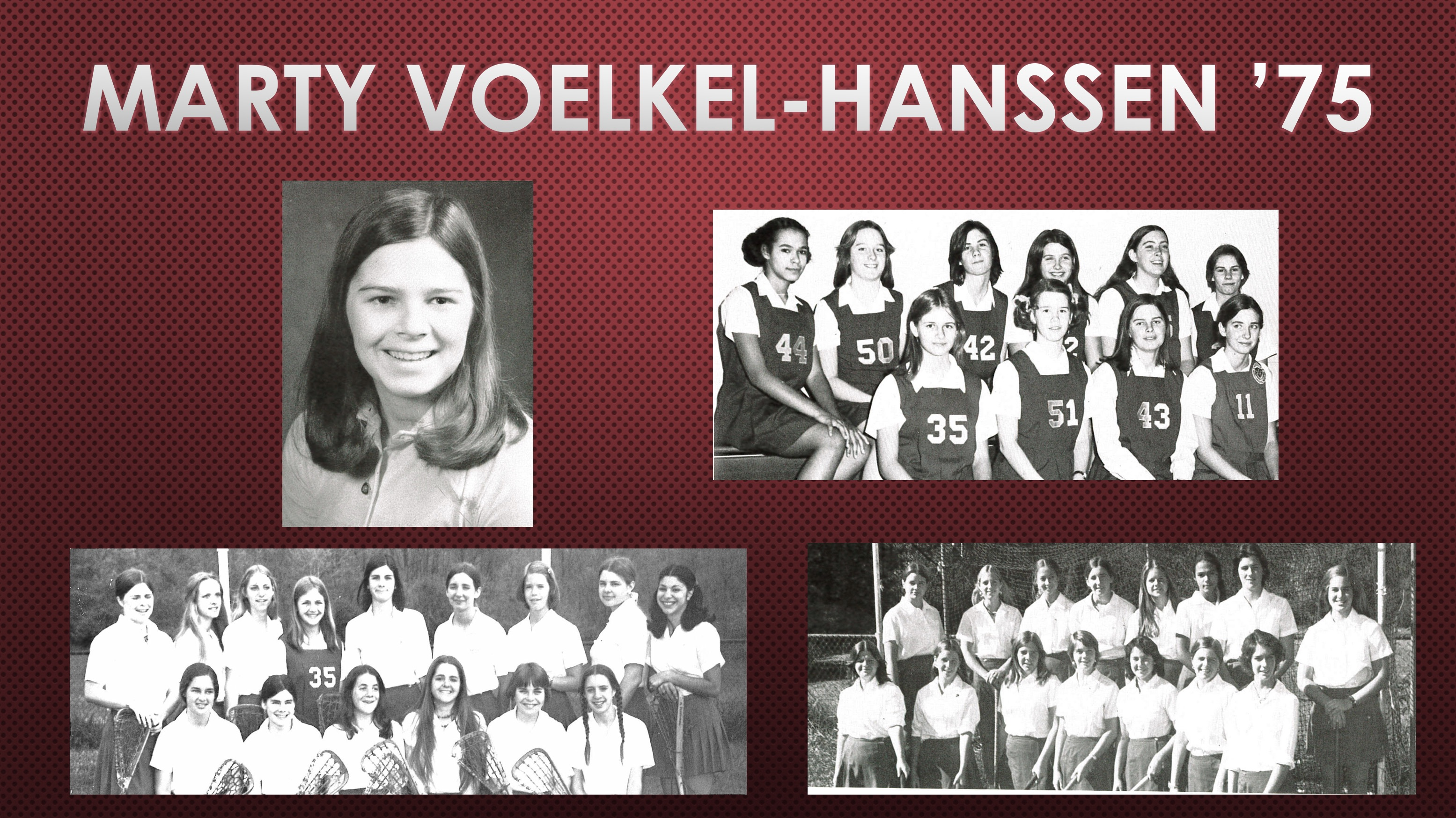 2018 Athletic Hall of Fame Inductee: Marty Voelkel-Hanssen '75