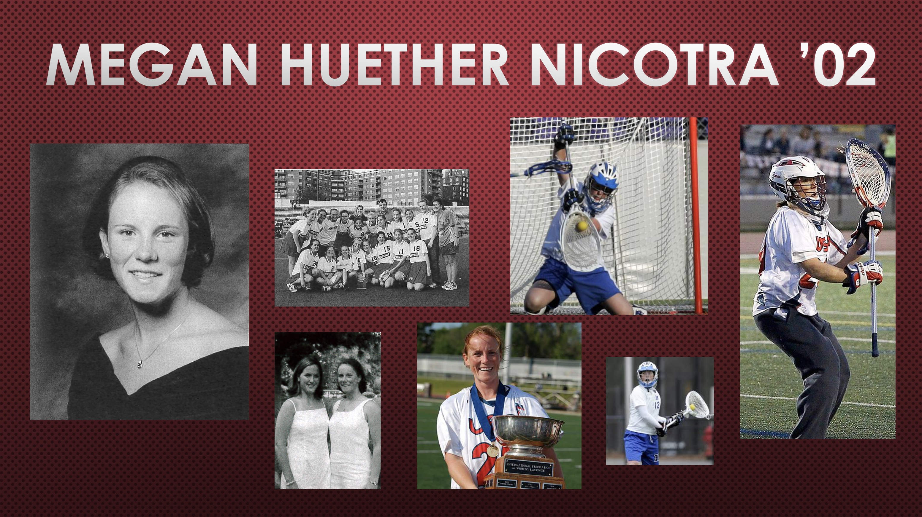 2018 Athletic Hall of Fame Inductee: Megan Huether Nicotra '02