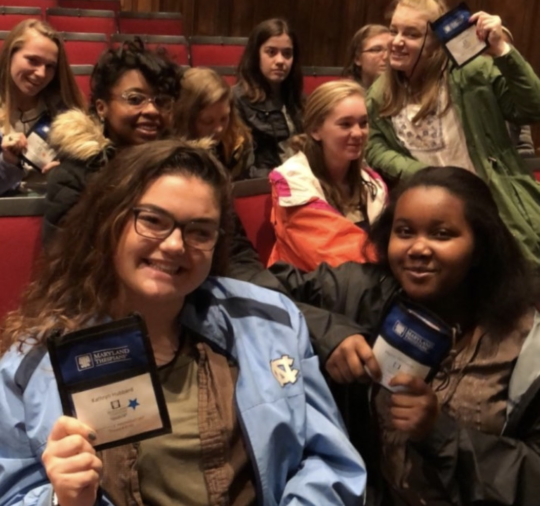 Maryvale Performing Arts students hone skills at MD Thespian Festival