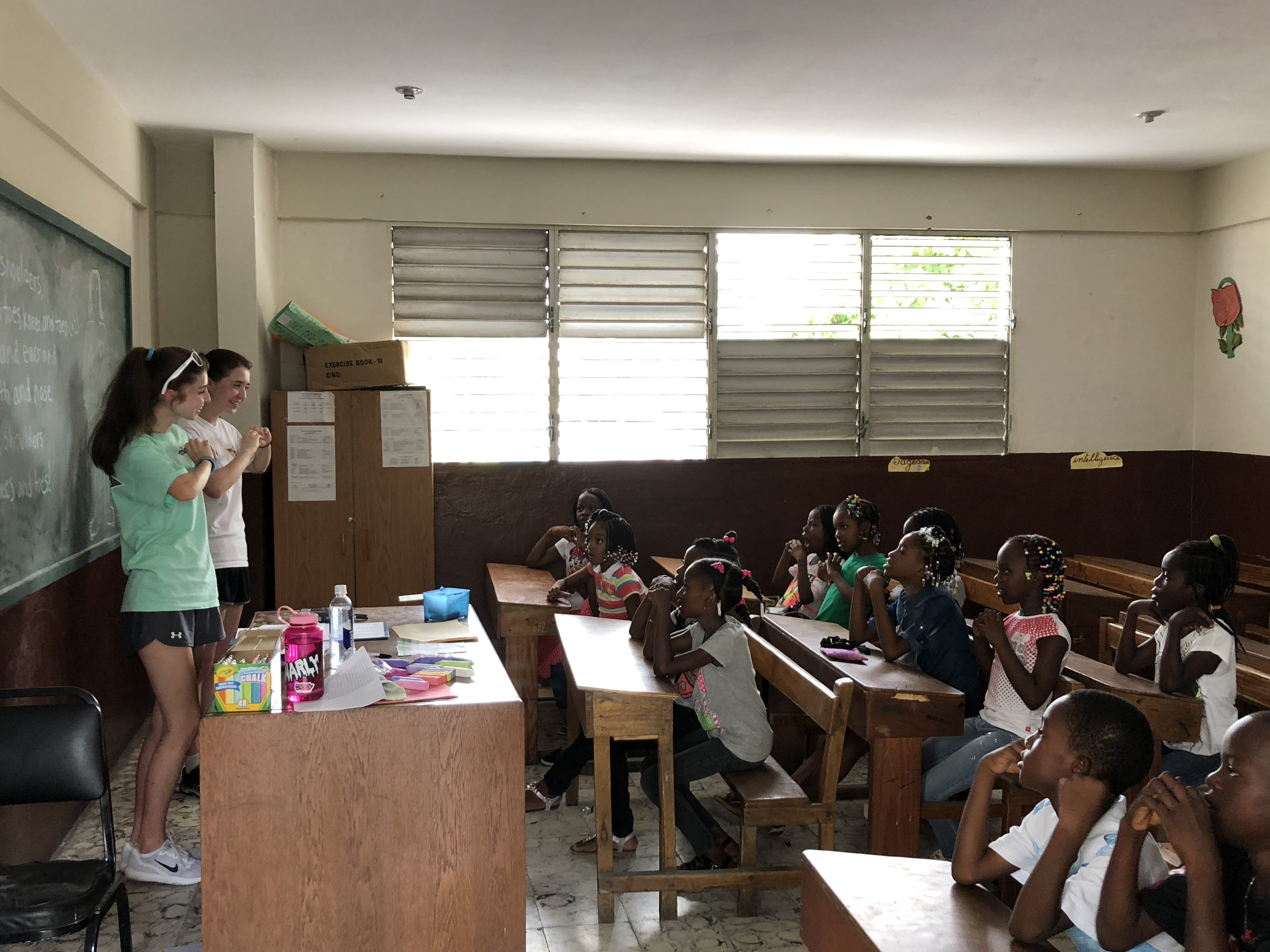 Maryvale students, teacher return from mission trip to Haiti
