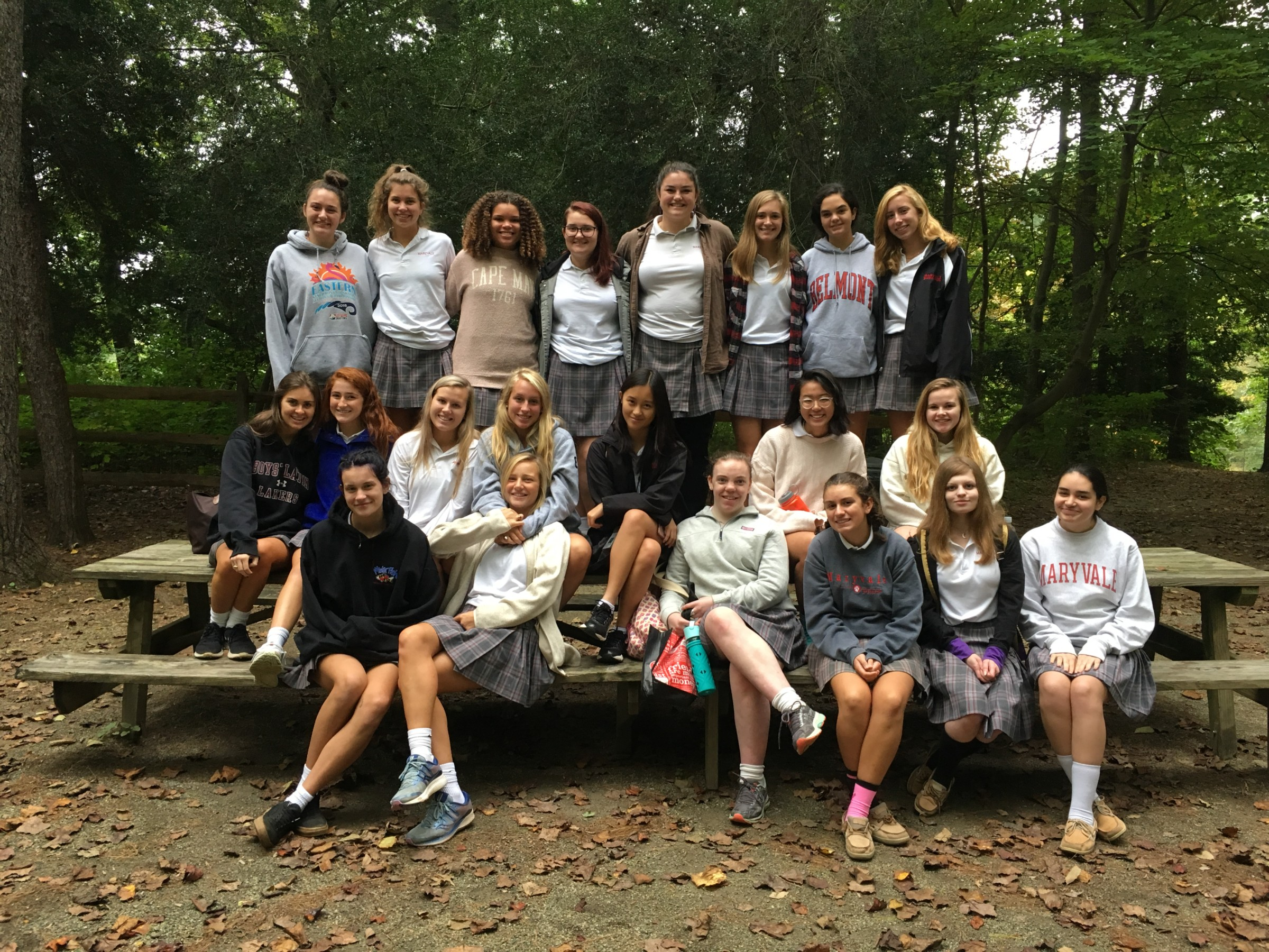 Learning at Longwood: Maryvale Art students visit Longwood Gardens