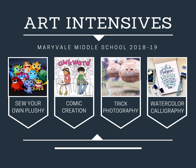Maryvale Art Department launches Middle School Art Intensives