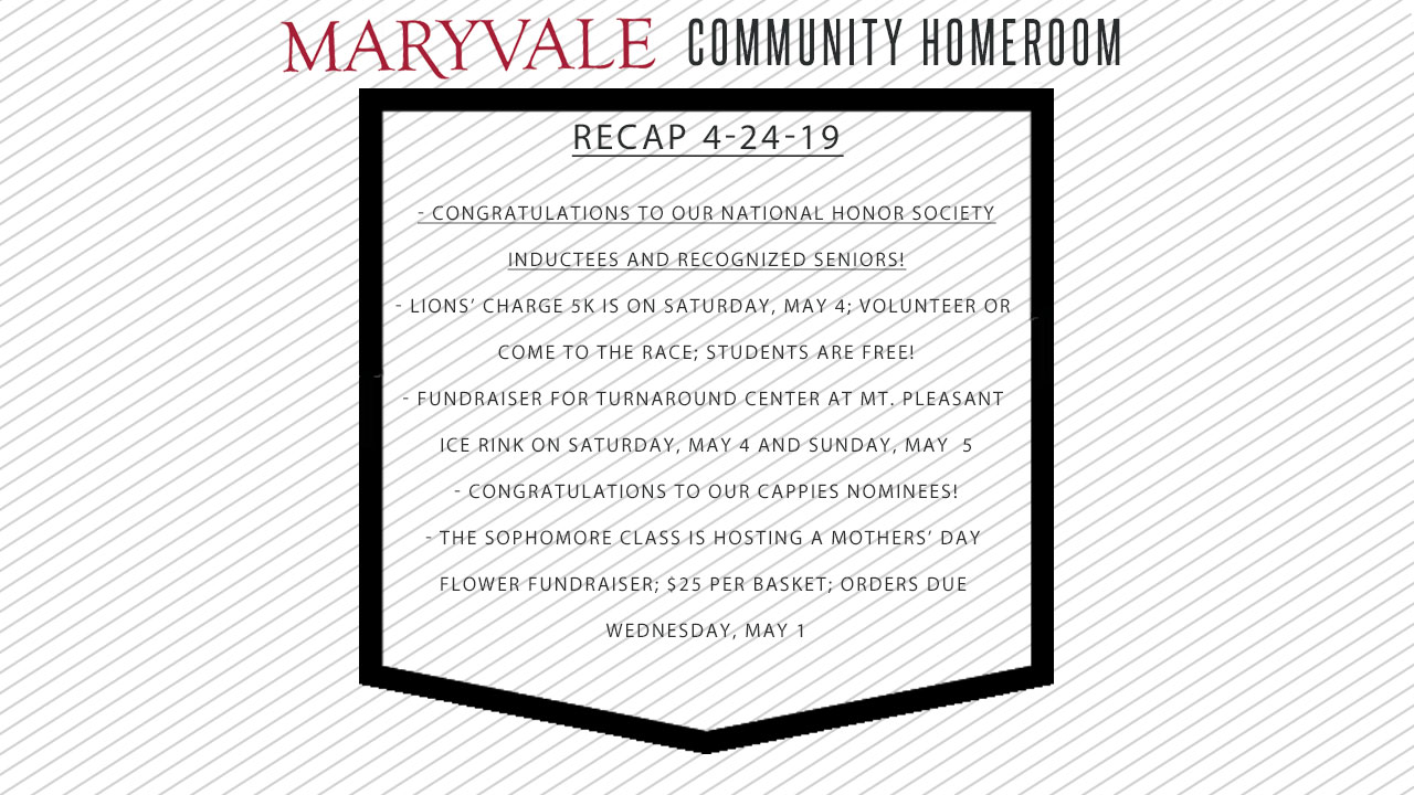 Chr Catch Up Stories Maryvale Preparatory School