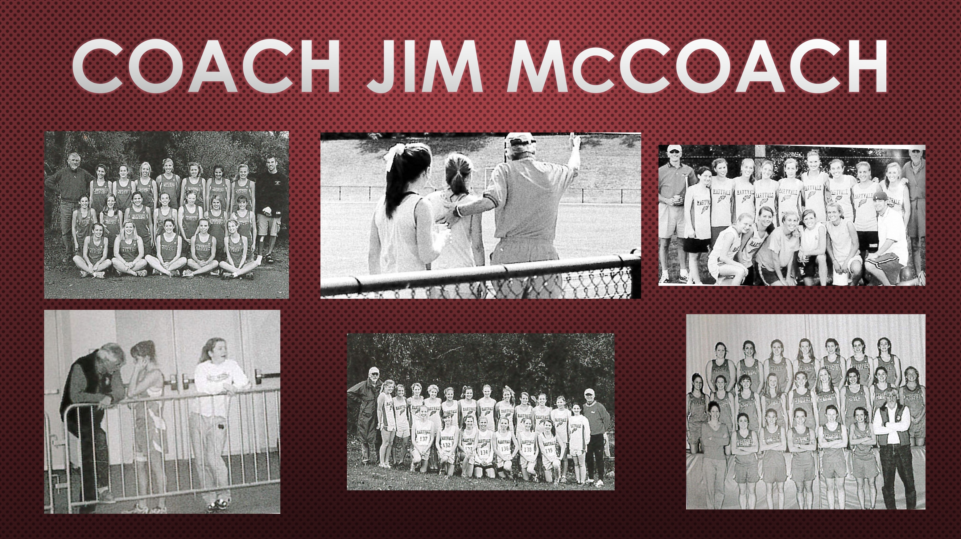 2018 Athletic Hall of Fame Inductee: Coach James S. McCoach