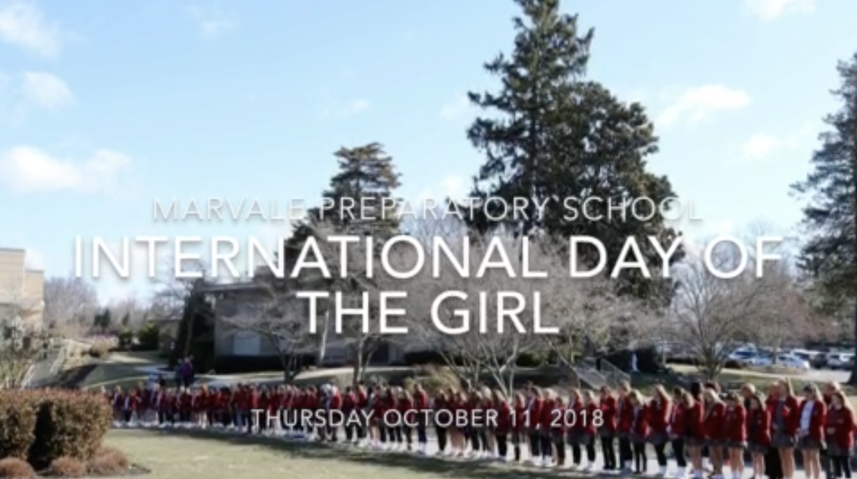 2018 International Day of the Girl