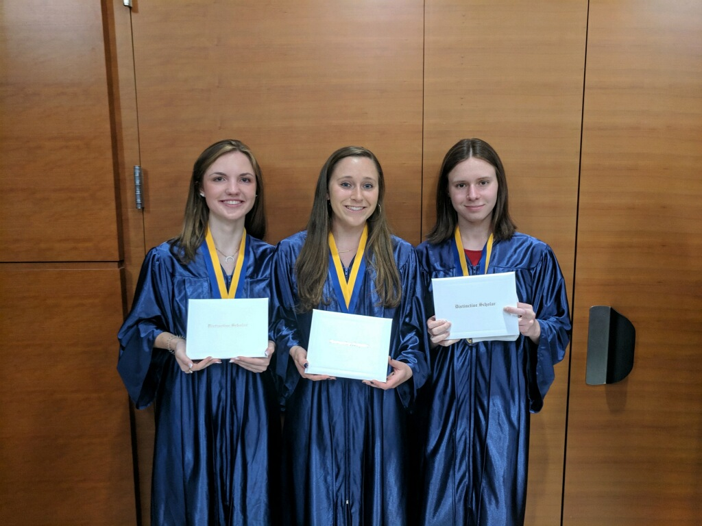 Three Maryvale seniors named Archdiocesan Distinctive Scholars