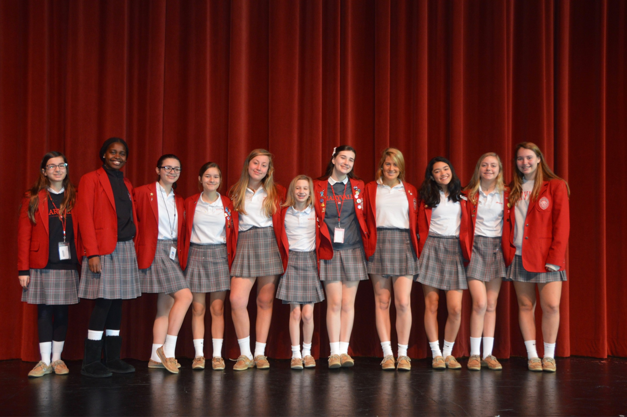 Maryvale Class of 2023 completes Eighth Grade Speech Festival