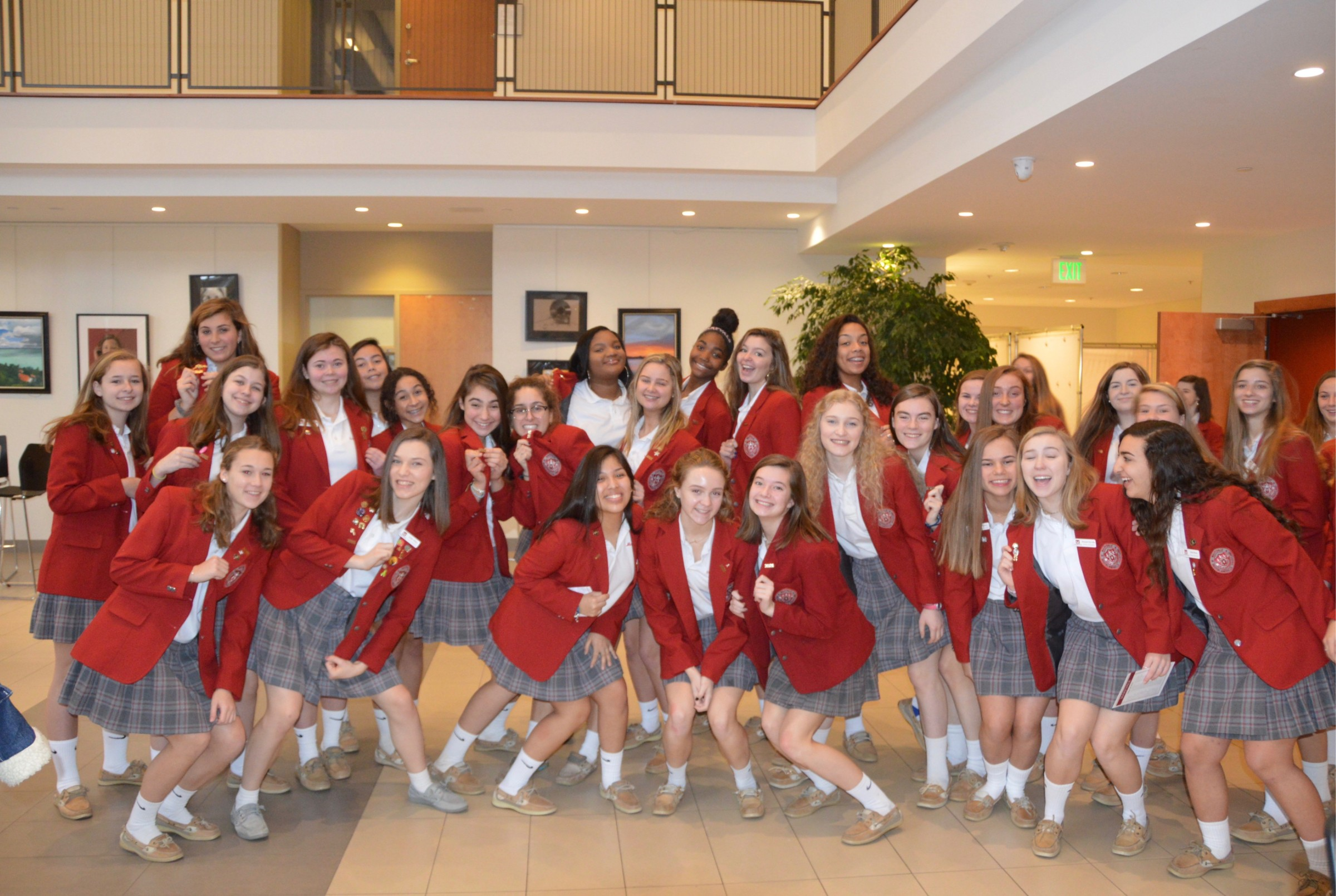 Maryvale Class of 2021 unified through annual Pin Ceremony