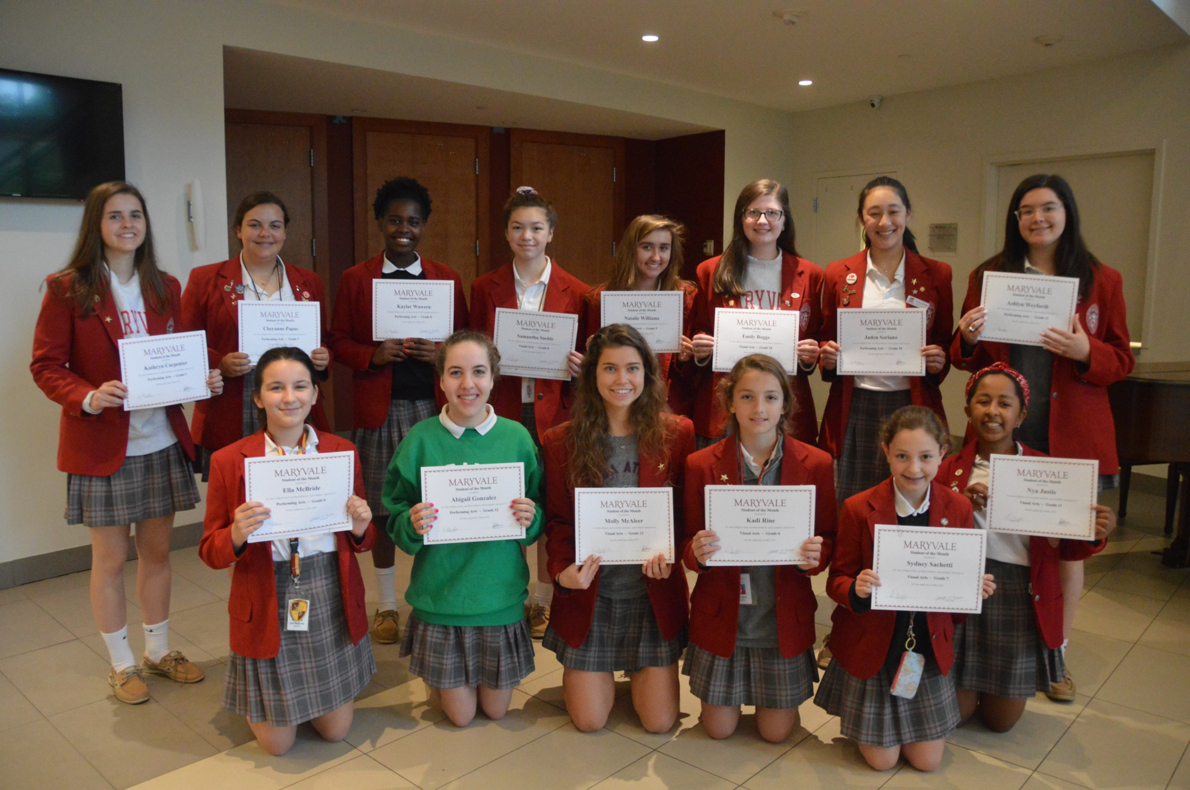 Students of the Month: 14 celebrated for Art accomplishments