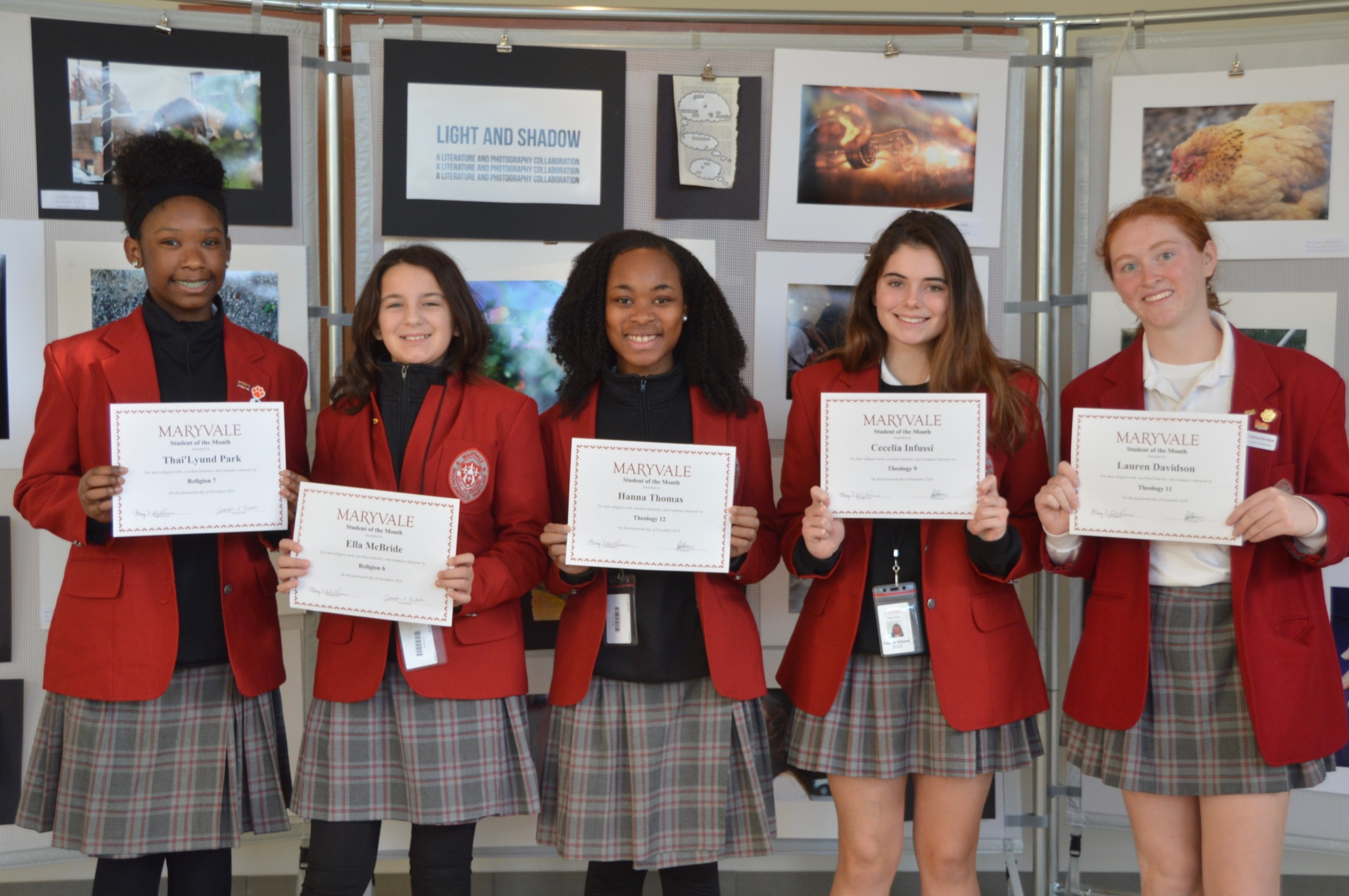 Students of the Month: Seven honored for success in Theology