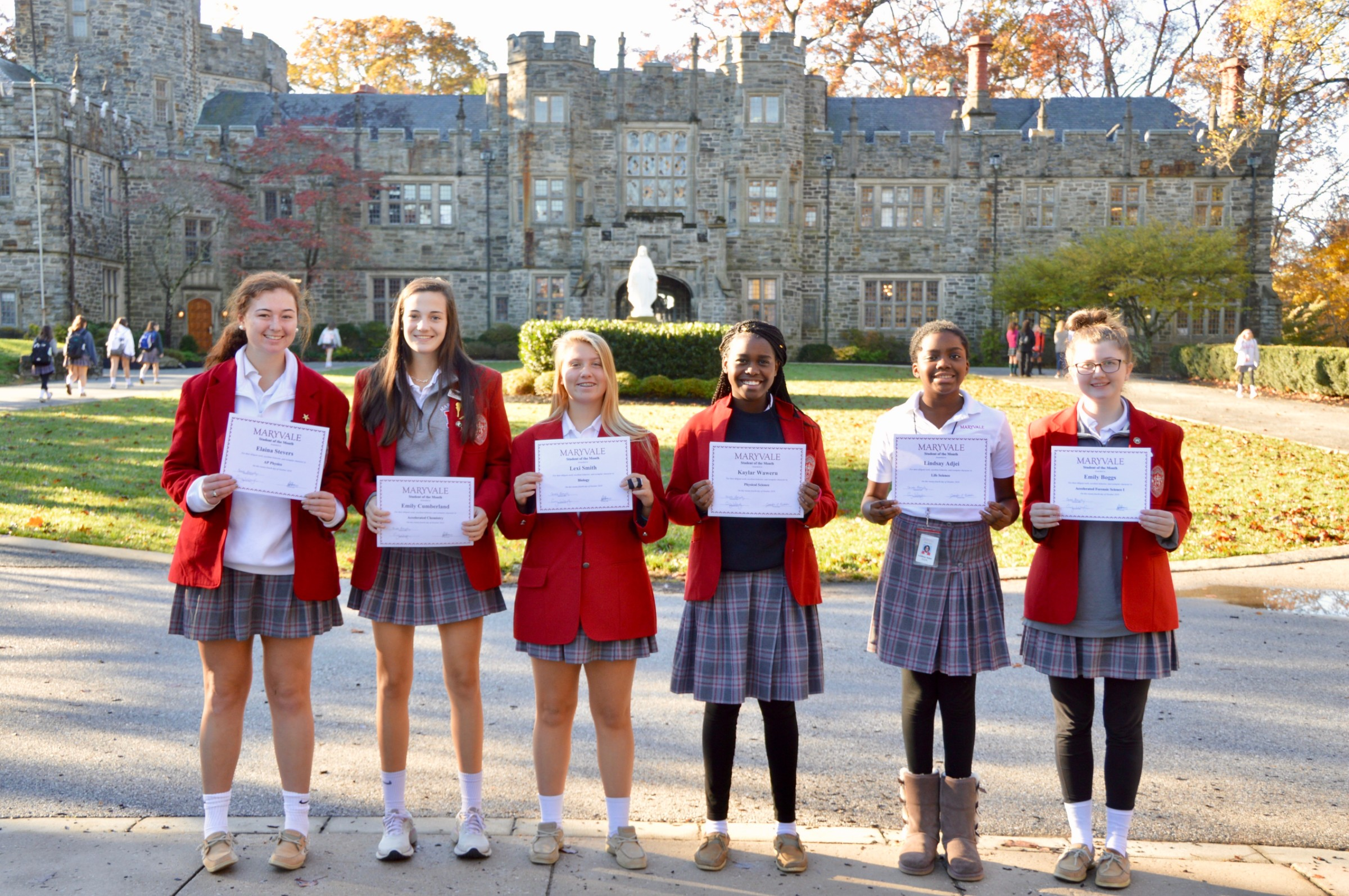 Students of the Month: Seven commended for academic excellence