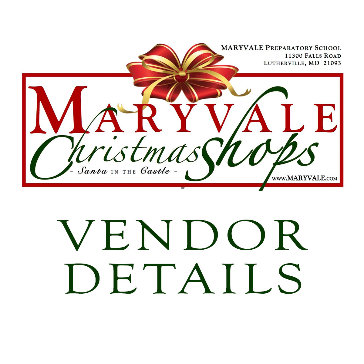 Christmas Shops @ Maryvale for Vendors