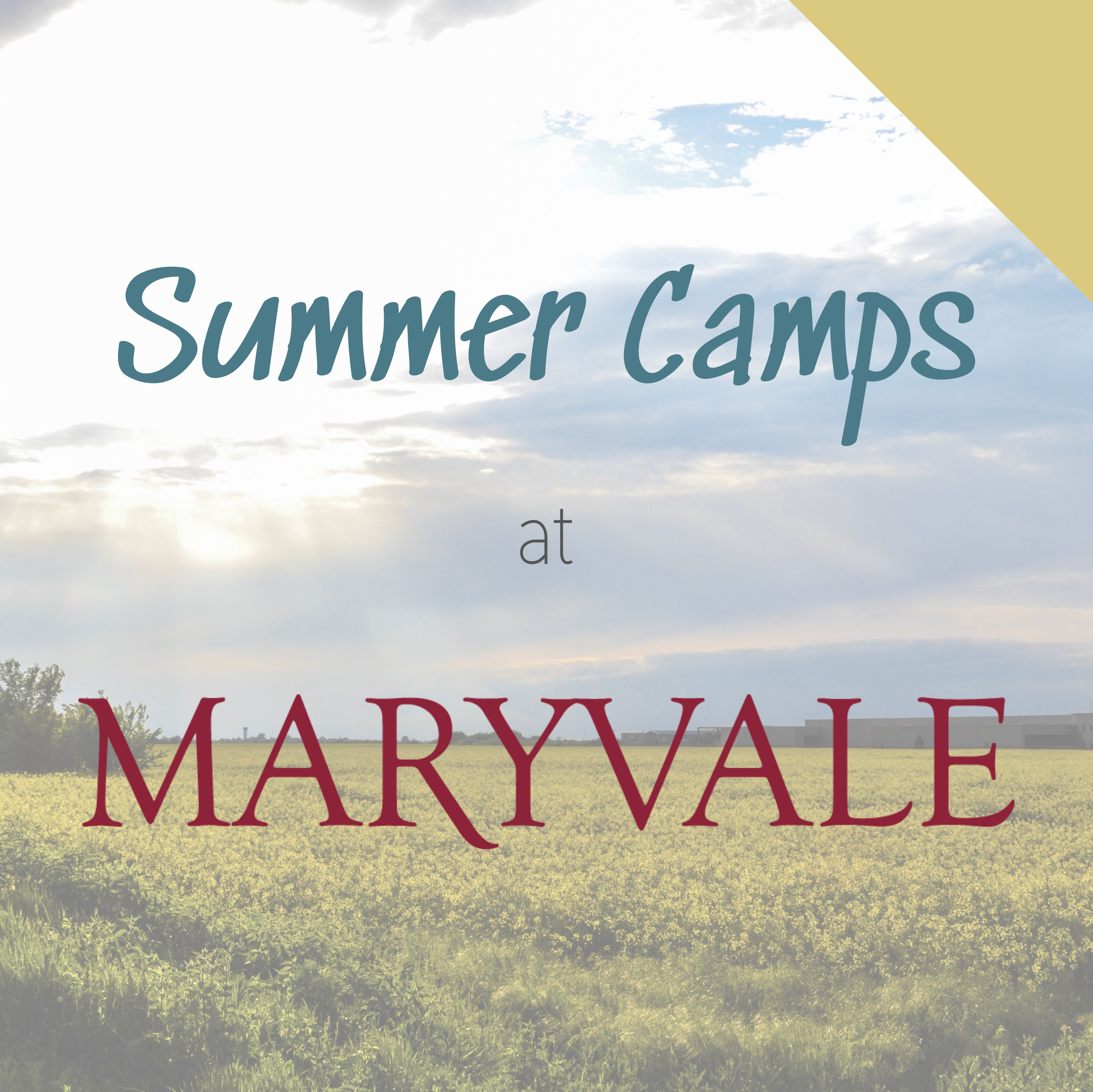 Summer Camps at Maryvale
