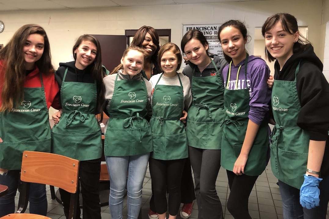 1,296 - Most Community Service Hours Logged by One Maryvale Student in Four Years