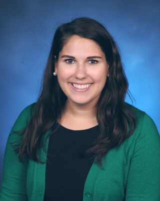 Admissions Assistant Nicole Muffoletto
